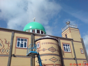 <p>A GRP dome which spans 6m and fits perfectly over an existing structure at Southampton's Medina Mosque.  Click link below for case study.</p>