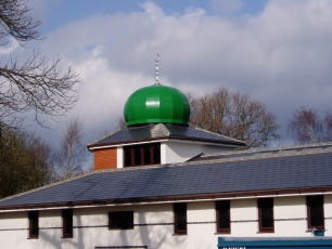 <p>Design, manufacture and installation a new mosque dome to an extension of the existing building. Architects RDjW. Dome production includes a finial and access hatch. Colour is RAL <br>  6001 in a satin finish and segments are to a faceted configuration to client request.</p>